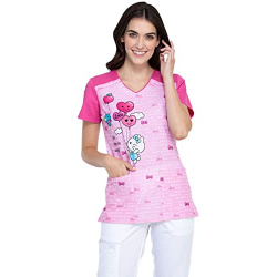 Camisa de Hello Kitty Rosada